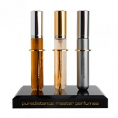 Three perfume spray holder